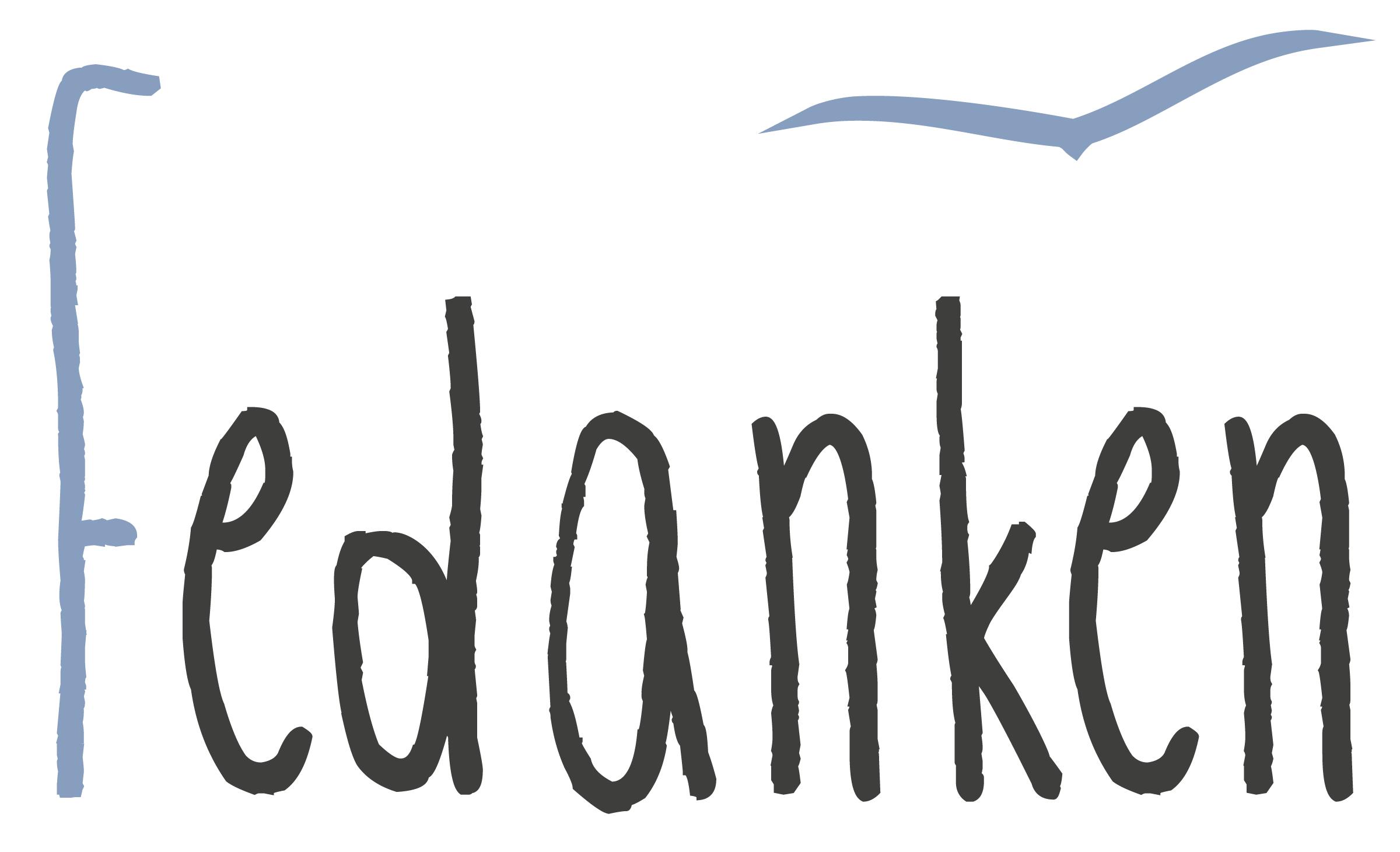 Logo Fedanken I graphit-d