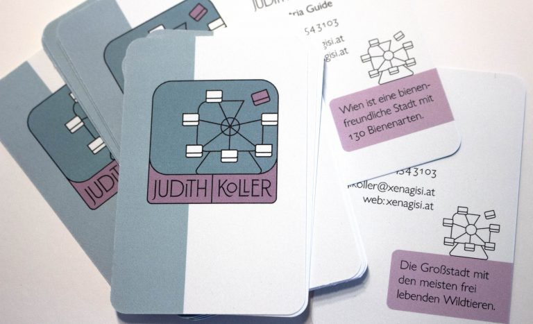 Visitenkarte für Judith Koller I graphit-d